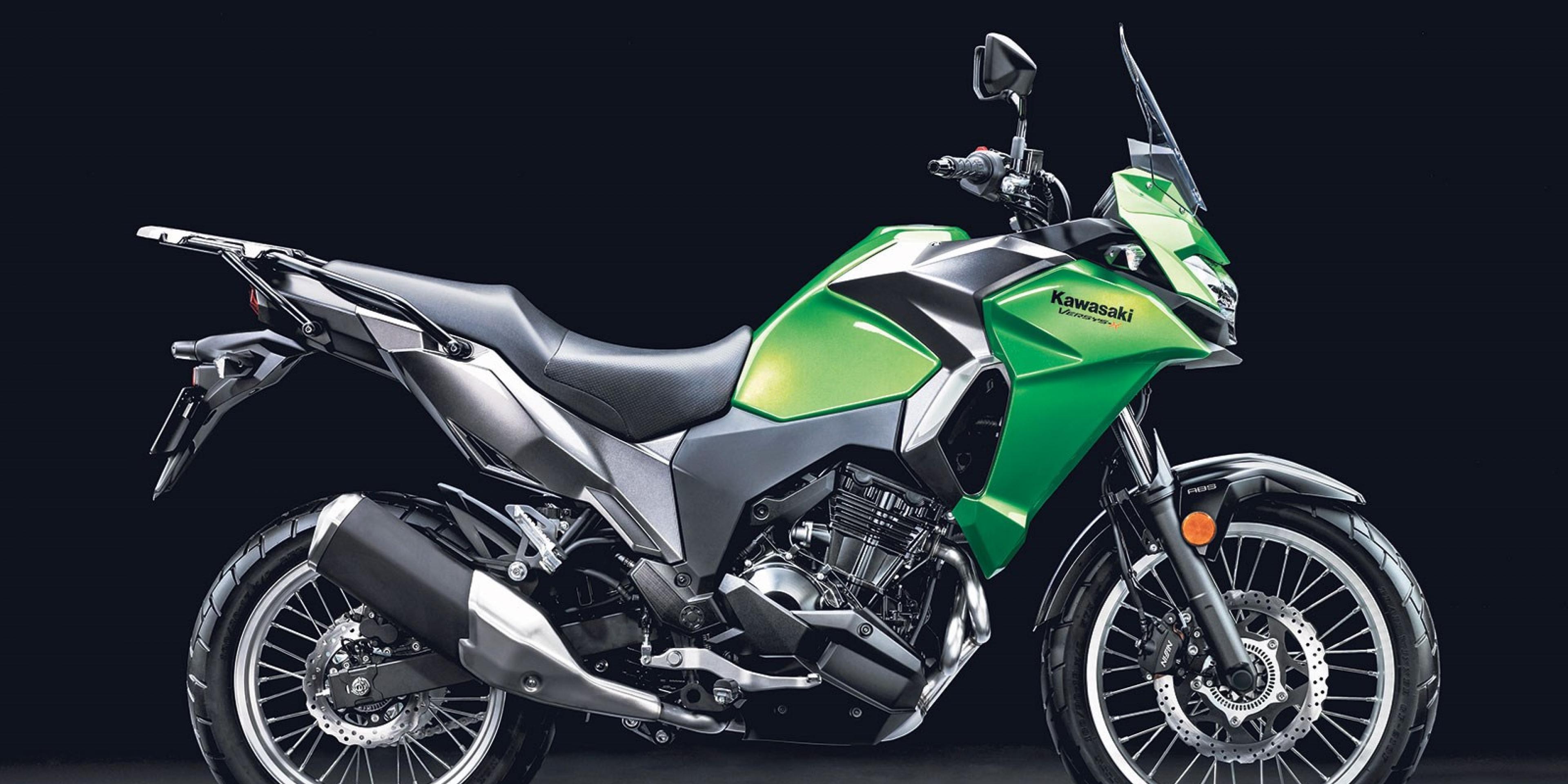 米蘭車展。新世代羽量級多功能車 KAWASAKI VERSYS-X 300
